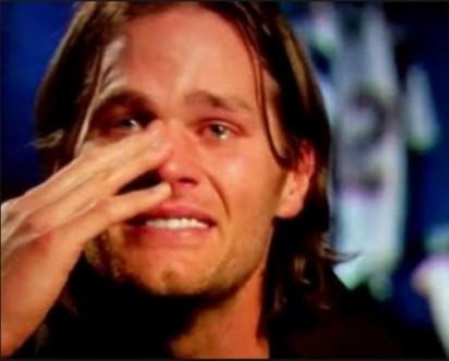 brady crying